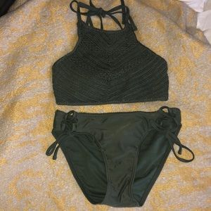CROCHETED BATHING SUIT SET